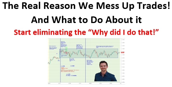 why we make mistakes when trading