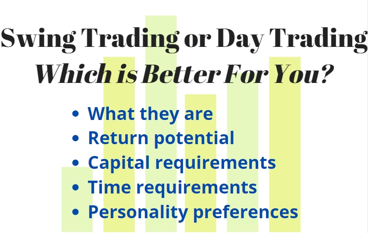 swing trading versus day trading, how to decide